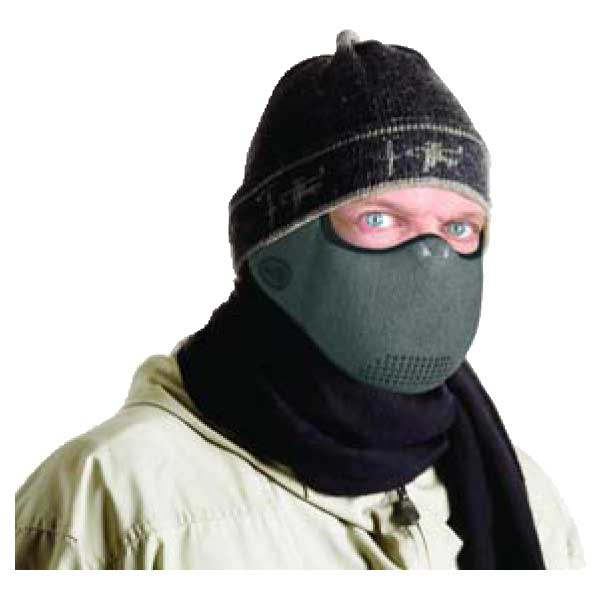 Grey AirGuard Medical CT Cold Air Face Mask