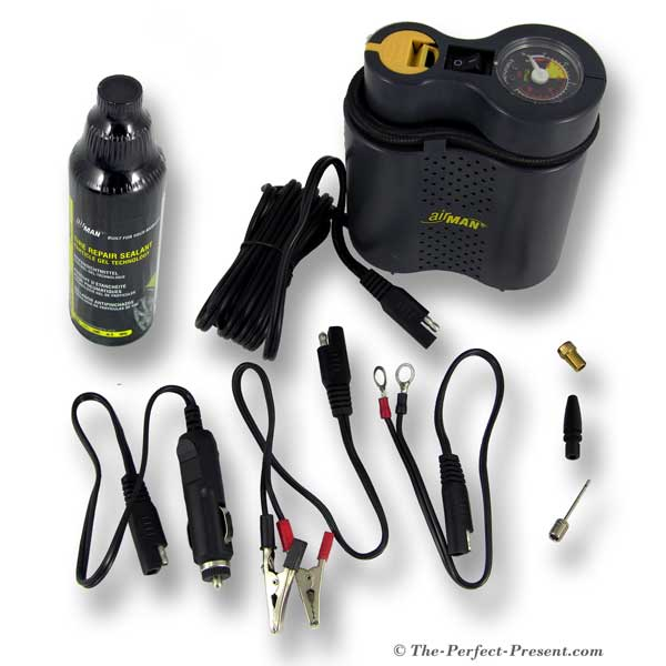 Pieces Included with Airman Tour Mini Air Compressor