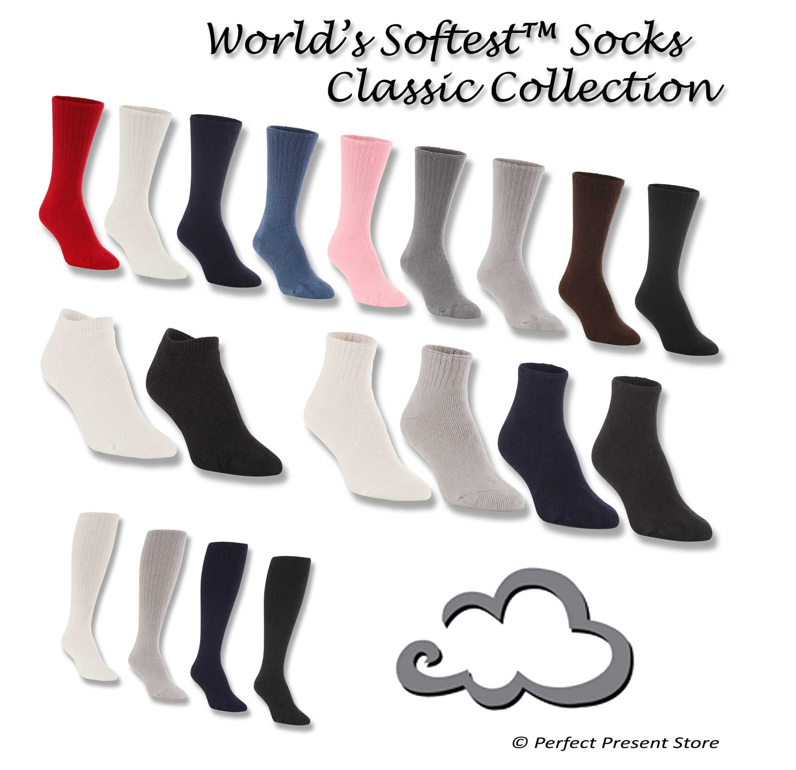 World's SoftestClassic Socks